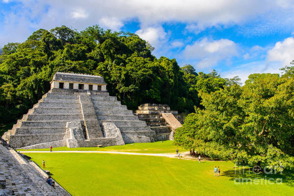 Landmark Wall Art - Photograph - Temple Of The Inscriptions, Palenque by Anton ivanov