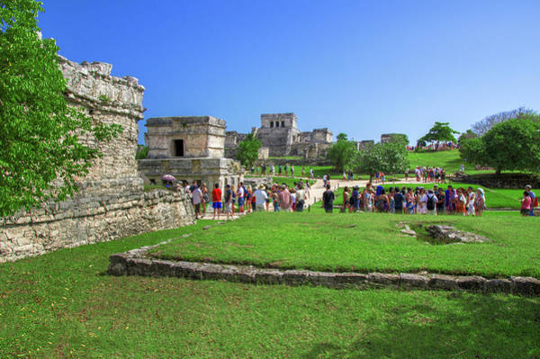 Photograph - Temples Of Tulum by Sun Travels