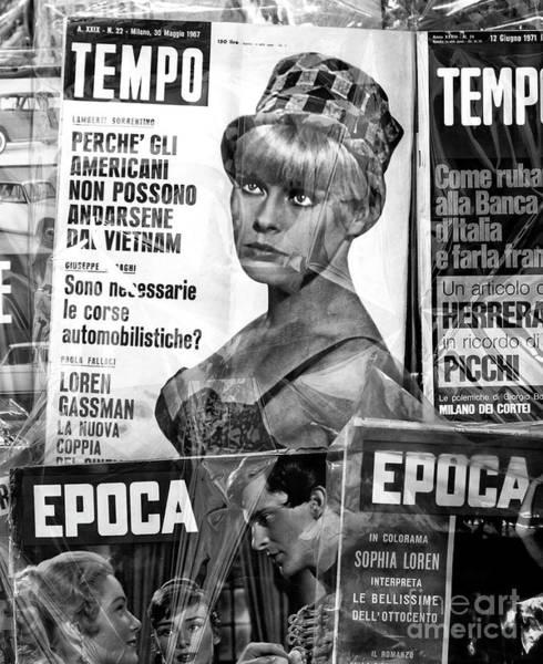 Photograph - Tempo Magazine Rome by John Rizzuto