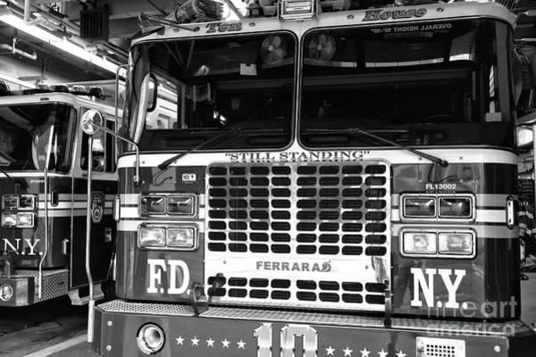Fdny Photograph - Ten House Still Standing New York City by John Rizzuto