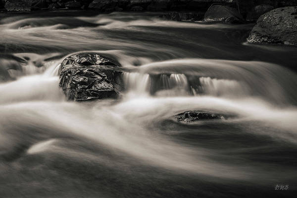 Photograph - Ten Mile River I Hunts Mills Toned by David Gordon