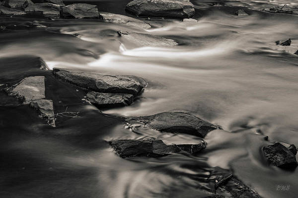 Photograph - Ten Mile River II Hunts Mills Toned by David Gordon