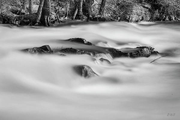 Photograph - Ten Mile River Vi Hunts Mills Bw by David Gordon