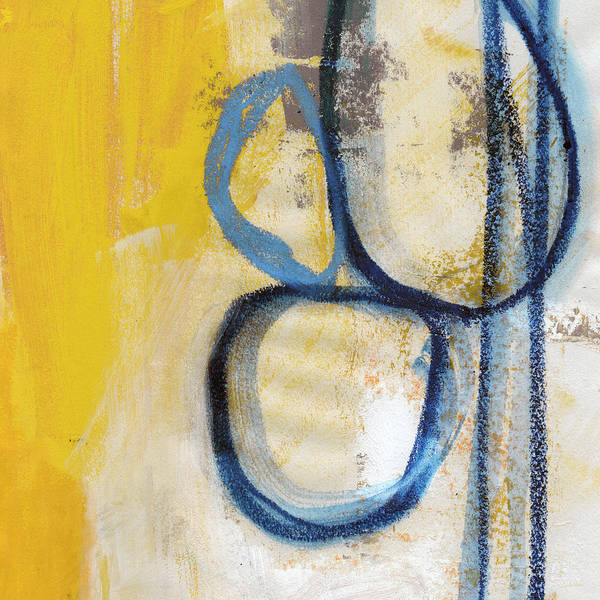 Wall Art - Mixed Media - Tender Mercies Yellow- Abstract Art By Linda Woods by Linda Woods