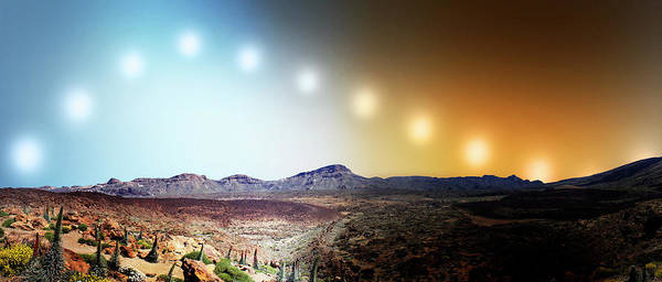 Tenerife Photograph - Tenerife Solar Time Lapse by Harold Cook