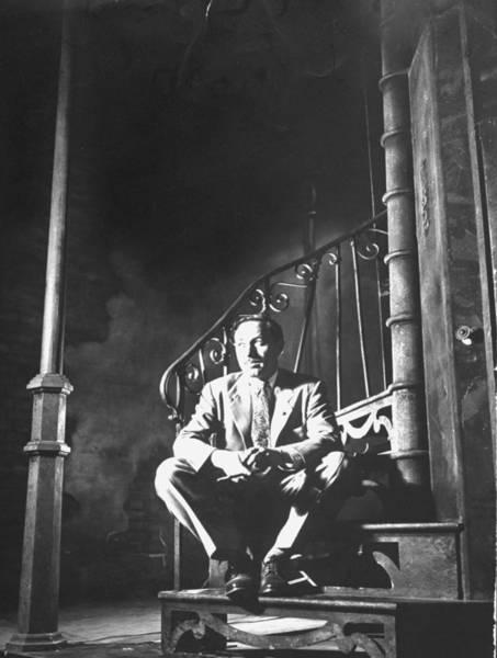 Scriptwriter Photograph - Tennessee Williams by Eliot Elisofon
