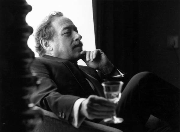 Scriptwriter Photograph - Tennessee Williams by Evening Standard