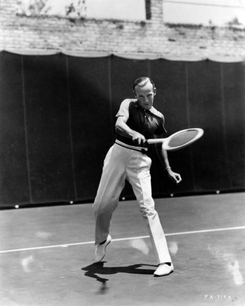 Court Photograph - Tennis Astaire by Hulton Archive