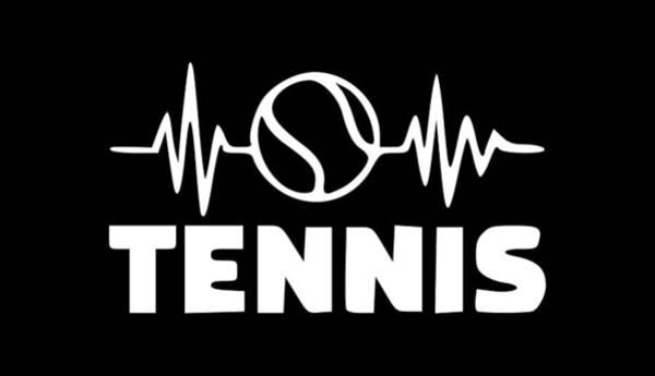Backhand Digital Art - Tennis Ball1 by Tee Titan