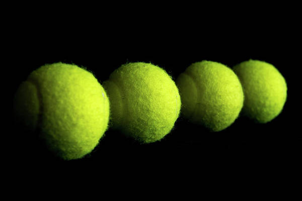 Photograph - Tennis Balls by Jennifer Wick