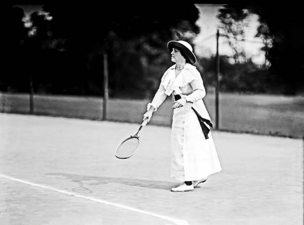 Photograph - Tennis In 1913 by Carlos Diaz