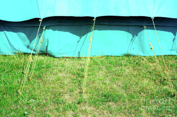 Wall Art - Photograph - Tent Ropes by Tom Gowanlock