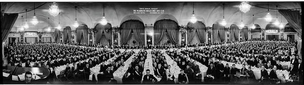 Wall Art - Photograph - Tenth Annual Banquet, The Washington by Fred Schutz Collection
