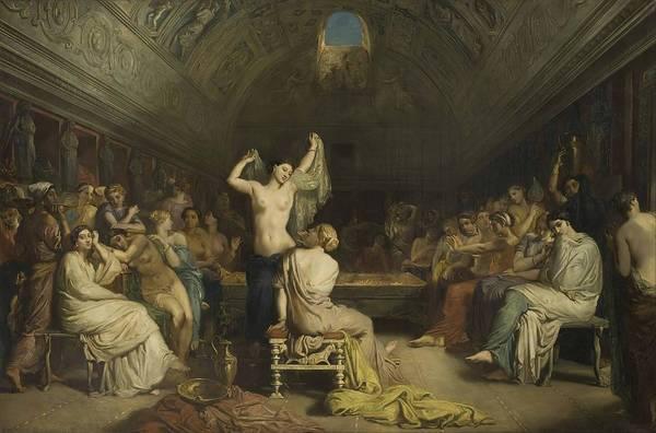 Tepidarium Painting - Tepidarium  by The  odore Chasse  riau