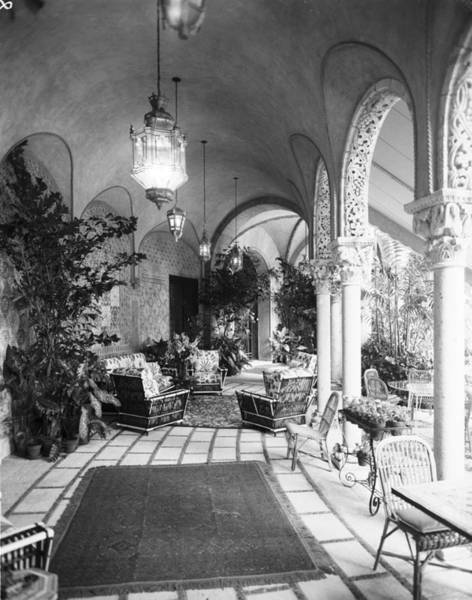 Businesswoman Photograph - Terrace At Mar-a-lago by Bert Morgan