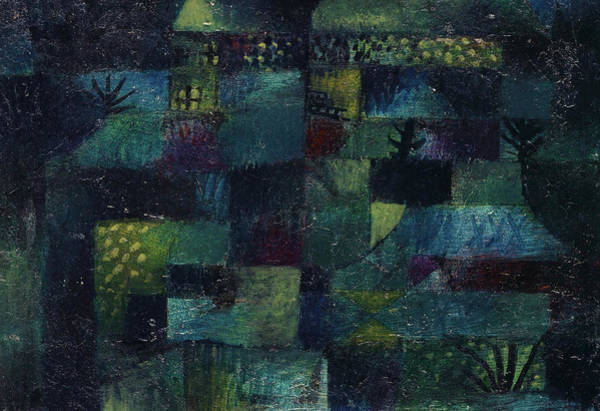 Wall Art - Painting - Terraced Garden, 1920 by Paul Klee