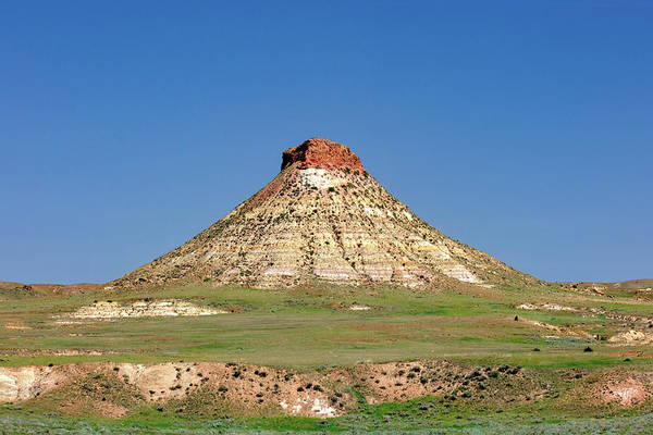Wall Art - Photograph - Terry Area Butte by Todd Klassy