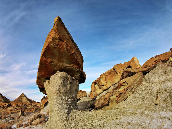 Photograph - Terry Badlands Formation by Leland D Howard