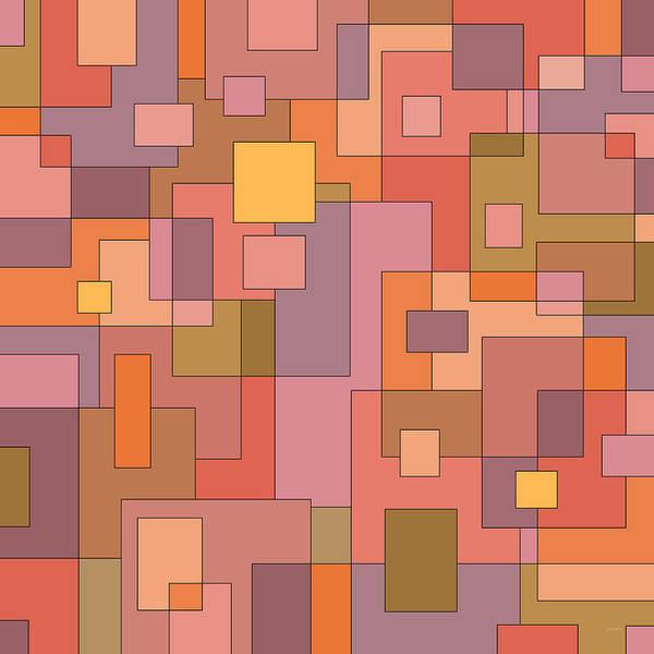 Digital Art - Blocks by Val Arie