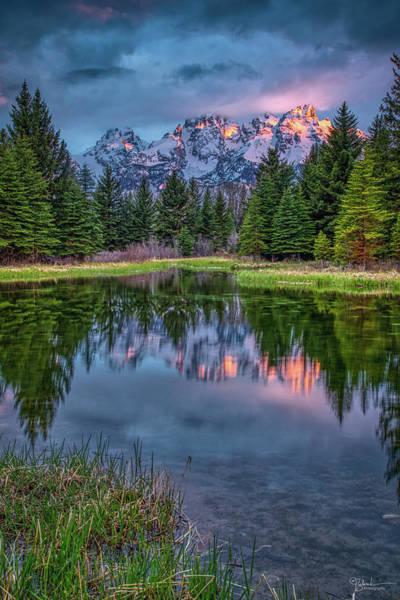 Wall Art - Photograph - Teton First Light by James Zebrack