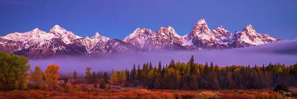 Photograph - Teton Morning by Chris Steele