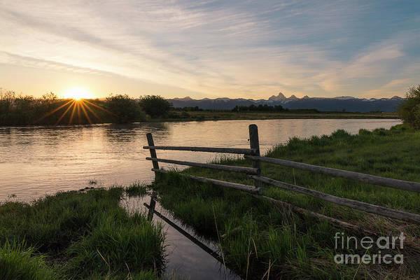 Wall Art - Photograph - Teton River Starburst by Idaho Scenic Images Linda Lantzy