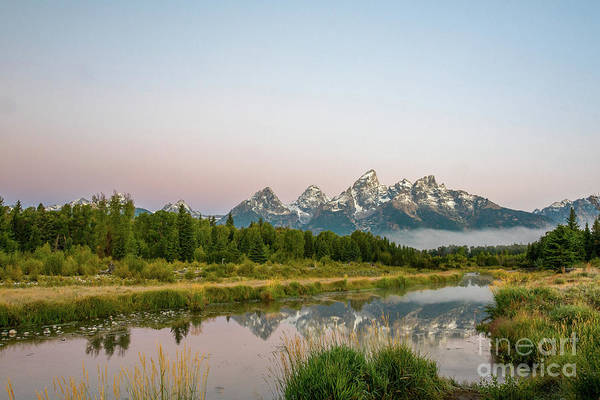 Photograph - Teton Sunrise by Paul Quinn