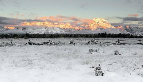 Photograph - Teton Sunrise by Ronnie and Frances Howard