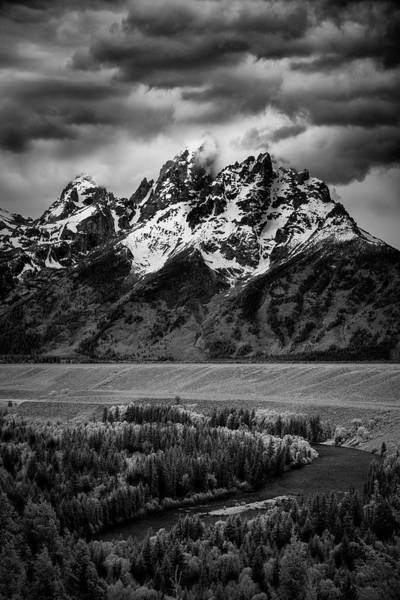 Photograph - Tetons Over The Snake River II by Jon Glaser