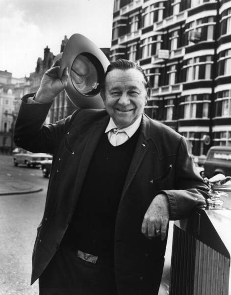 Wave Photograph - Tex Ritter by Hulton Archive