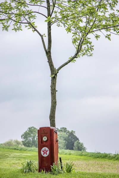 Photograph - Texaco Gas Pump  by John McGraw