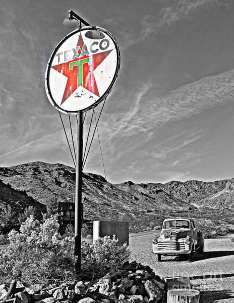 Wall Art - Photograph - Texaco Star by Tru Waters