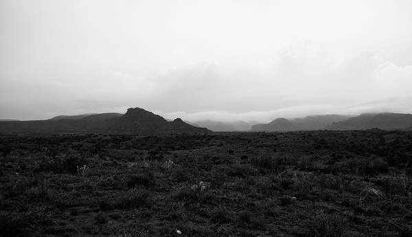 Photograph - Texas Canyon 7 #blackwhite by Andrea Anderegg