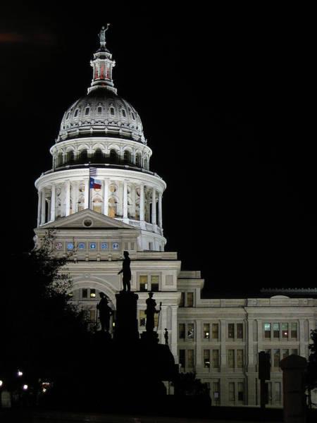 Wall Art - Photograph - Texas Capitol - Austin by Borsheim