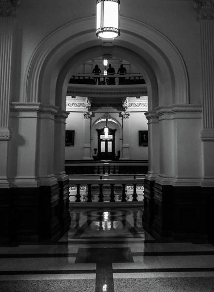 Photograph - Texas Capitol Tourists by Dan Sproul