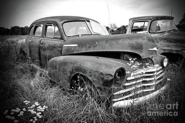 Wall Art - Photograph - Texas Forgotten In Field by Chris Andruskiewicz