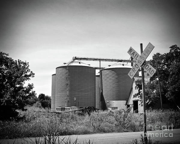 Wall Art - Photograph - Texas Forgotten Rail Road Crossing II by Chris Andruskiewicz