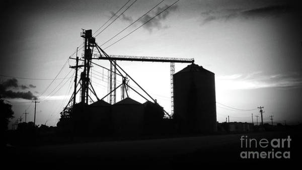 Wall Art - Photograph - Texas Forgotten Silos At Dusk by Chris Andruskiewicz