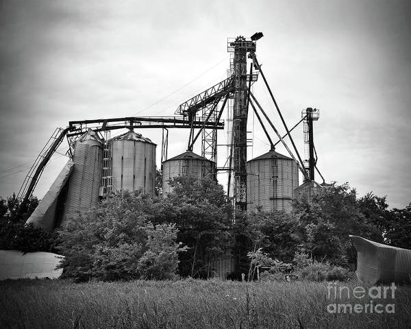 Wall Art - Photograph - Texas Forgotten Silos by Chris Andruskiewicz