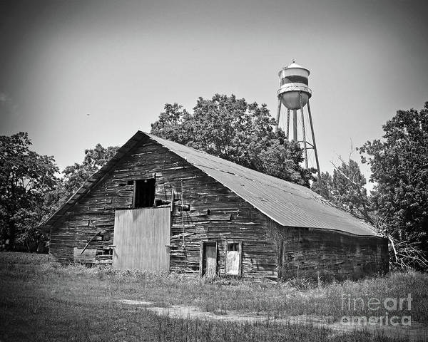 Wall Art - Photograph - Texas Forgotten Wooden Barn by Chris Andruskiewicz