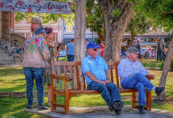 Photograph - Texas Good Ole Boys by Gaylon Yancy