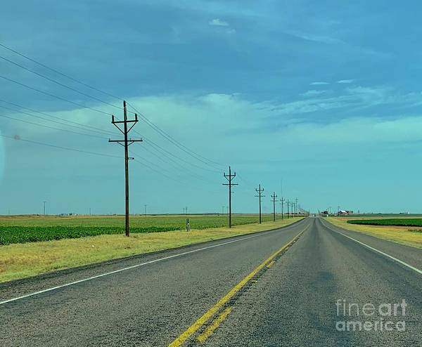 Wall Art - Photograph - Texas Highway  by Lisa Quenon