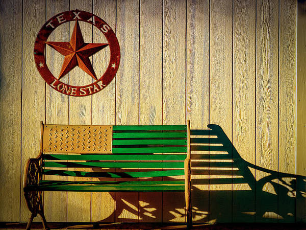 Photograph - Texas Lone Star by Paul Wear