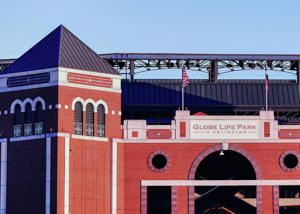 Photograph - Texas Rangers Globe Life Park 030619 by Rospotte Photography