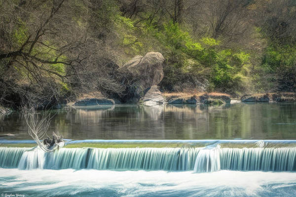 Photograph - Texas River Falls by Gaylon Yancy
