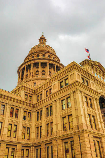 Photograph - Texas State Capitol Building Exterior by Dan Sproul