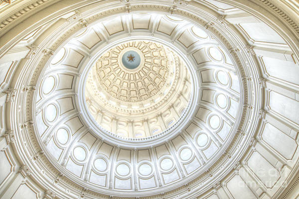 Wall Art - Photograph - Texas State Capitol Building by Lmpphotography