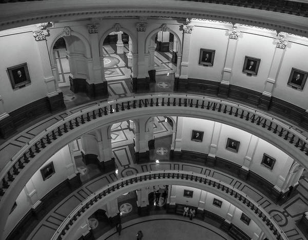 Photograph - Texas State Capitol Interior 2 by Dan Sproul