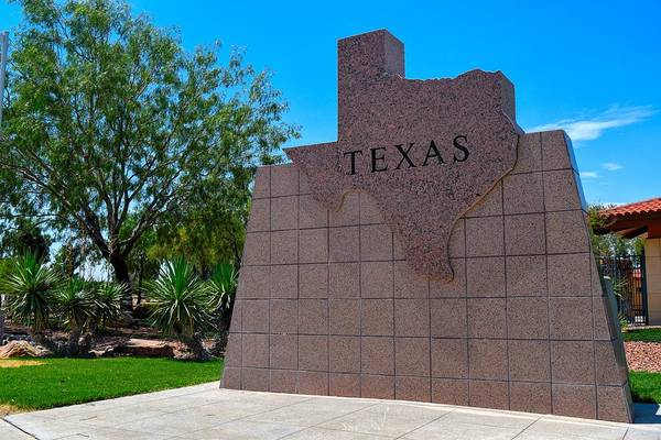 Photograph - Texas State Shape Plaque  by Chance Kafka