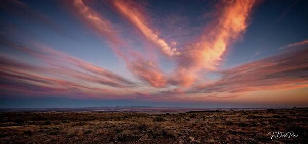 Photograph - Texas Sunset by David Pine
